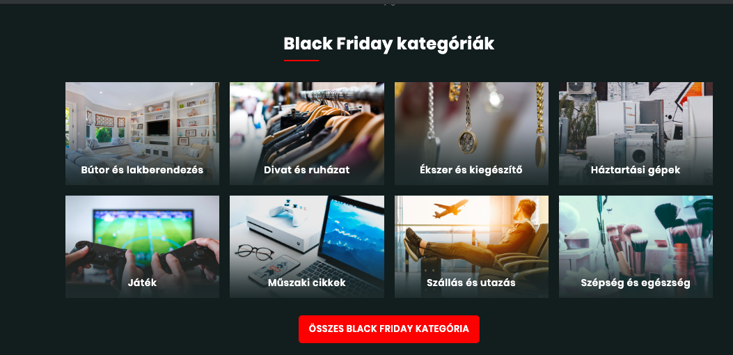 black friday akciók